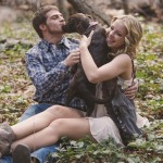 And they called it puppy love. The most darling engagement…