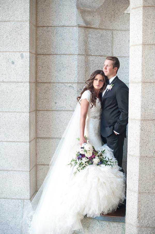 Lds Wedding Gowns For Rent : Salt lake city utah lds mormon temple wedding bridal groomal bride