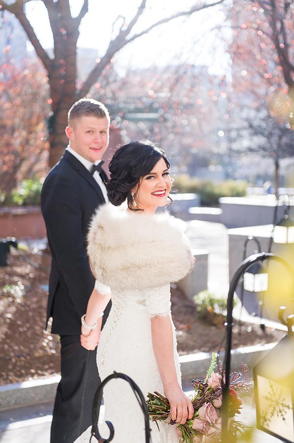 winter wonder � utah valley bride