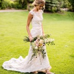 This neckline That bouquet Those shoes UtahValleyBridecom utahvalleybride utahbride utahweddinghellip