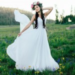 Wildflower about you Todays UtahValleyBridecom feature is serene sweet andhellip