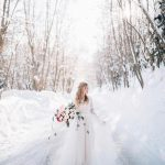TBT to this winter wonderland featured on UtahValleyBridecom last yearhellip